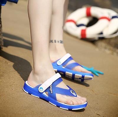 Fashion Men's Sandals New Flip-flops Slippers Buckle Casual Beach Loafer Modern