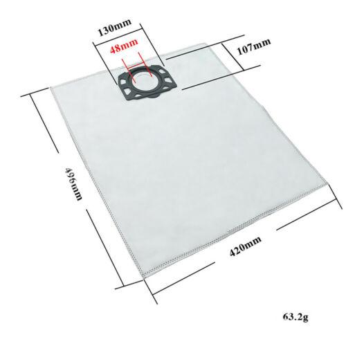 Portable Dust Filtration Bag for Karcher MV4 MV5 MV6 WD4 WD5 WD6 Vacuum Cleaner