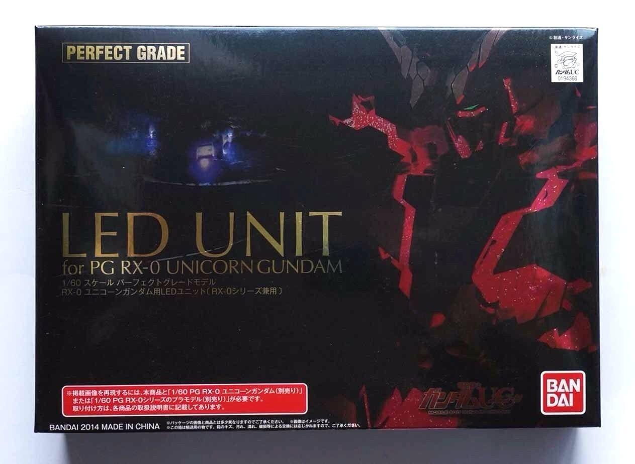 """BANDAI  LED Unit"""" for PG RX-0 Unicorn Gundam series unopened kit"""