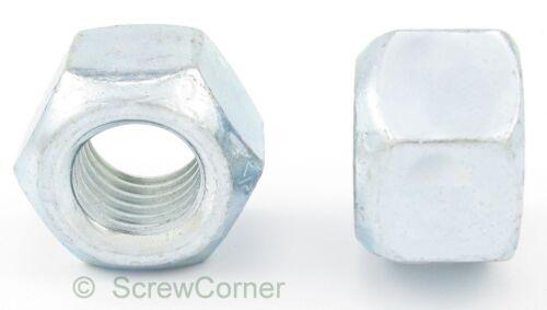 Ganzmetallsicherungsmutter 5//16-24 UNF Grade C verzinkt All-Metal Lock Nut
