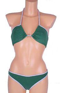 Replay-Bikini-Badeanzug-Triangel-BH-Slip-Gr-36-38-Cup-A-B-60