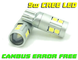 501-W5W-Canbus-9W-LED-Number-Licence-Plate-Bulbs-For-Vauxhall-Astra-Mk5-H