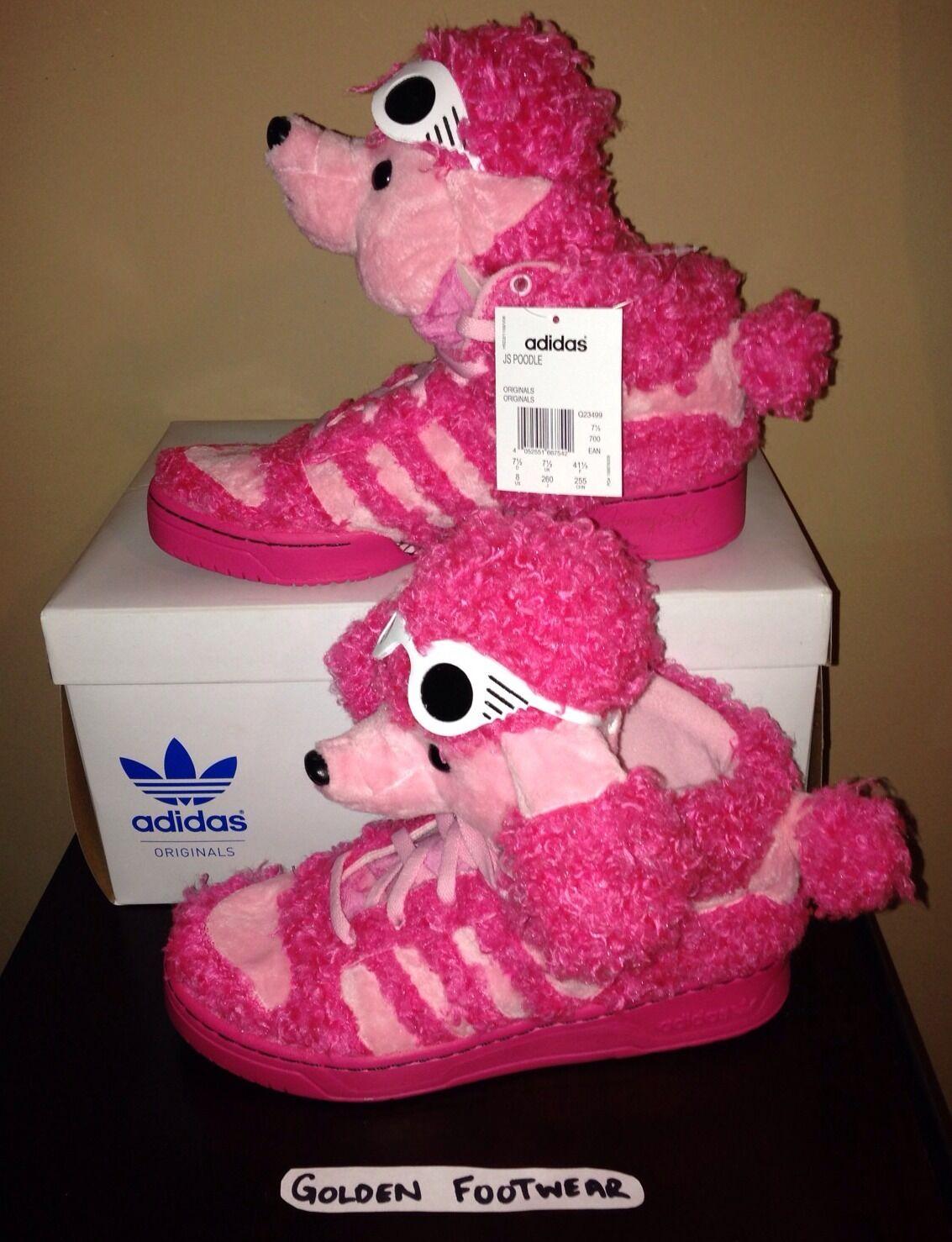 2013 adidas obyo x jeremy scott barboncino originali originali barboncino stivali js delle ali rosa a60935
