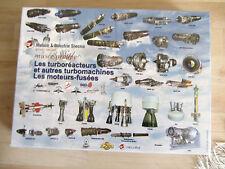 PUZZLE 1000 pièces, moteurs fusées, etc, édité par SNECMA, boite neuve, 2003