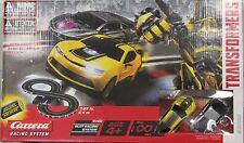 CARRERA 63000 GO !!! TRANSFORMERS BUMBLEBEE NEW 1/43 GO SLOT CAR RACING SET