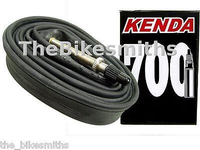 4 PACK KENDA 700C X20-28 80mm Extra XXX Long SMOOTH Presta Valve Bike Tubes
