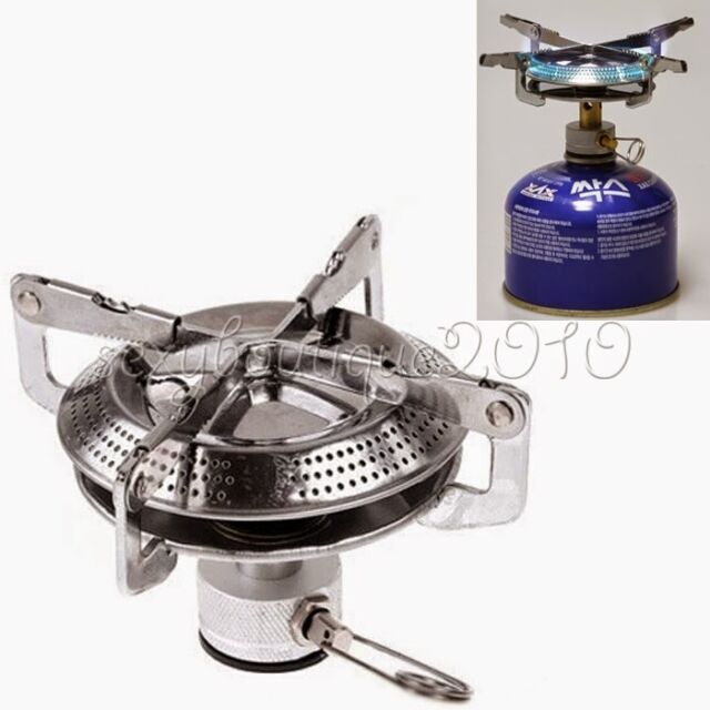 Picnic Camping Butane Gas Stove BBQ Burner Cookware Outdoors Portable Cooking