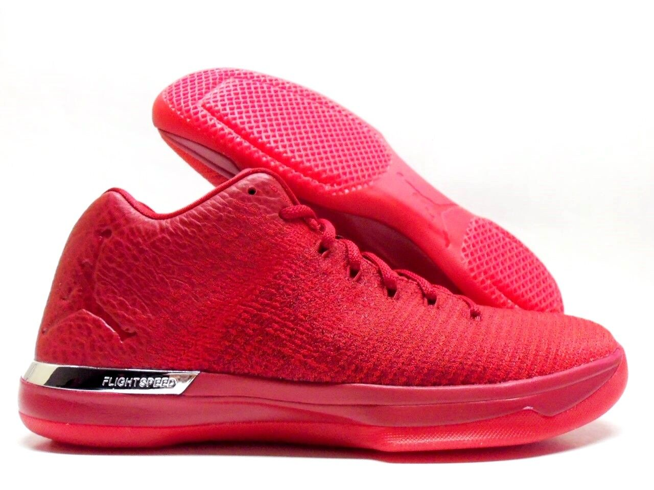 NIKE AIR JORDAN XXXI LOW 31 GYM RED/ACTION RED SIZE MEN'S 10 [897564-601]