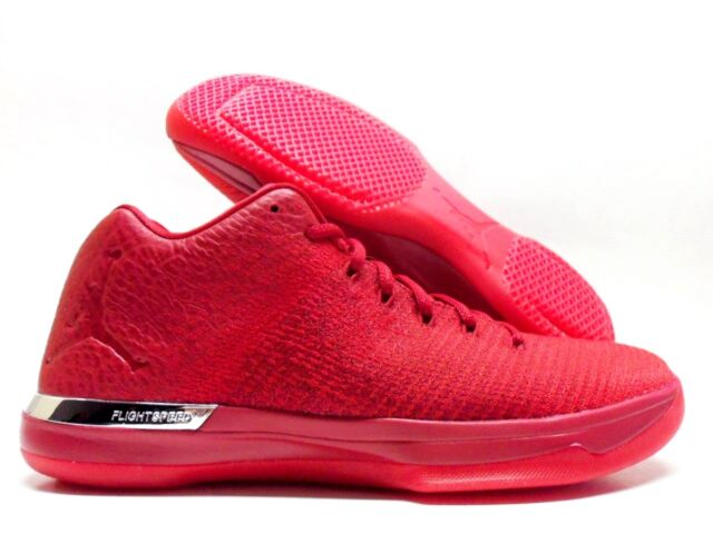 big sale abdcc bc24c NIKE AIR JORDAN XXXI LOW 31 GYM RED ACTION RED SIZE MEN S 10  897564