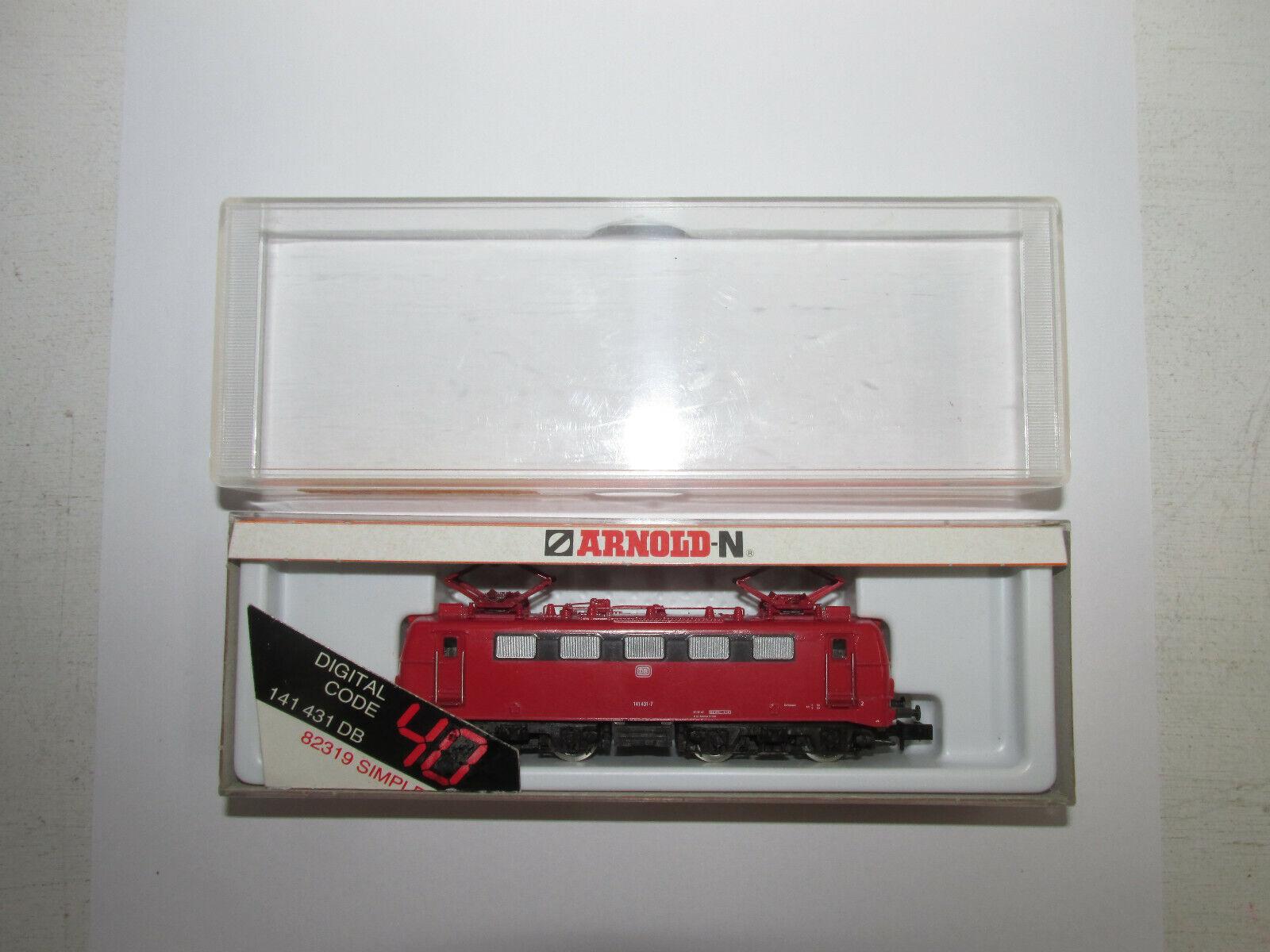 Arnold RAPIDO Digital Spur N elettro-Lok delle DB con con con BN 141 431-7 indirizzo 40 OVP f75c35