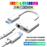 USB Type C to 3.5mm Aux Audio Jack Cable Cord Adapter for Samsung S20 FE S21 S10