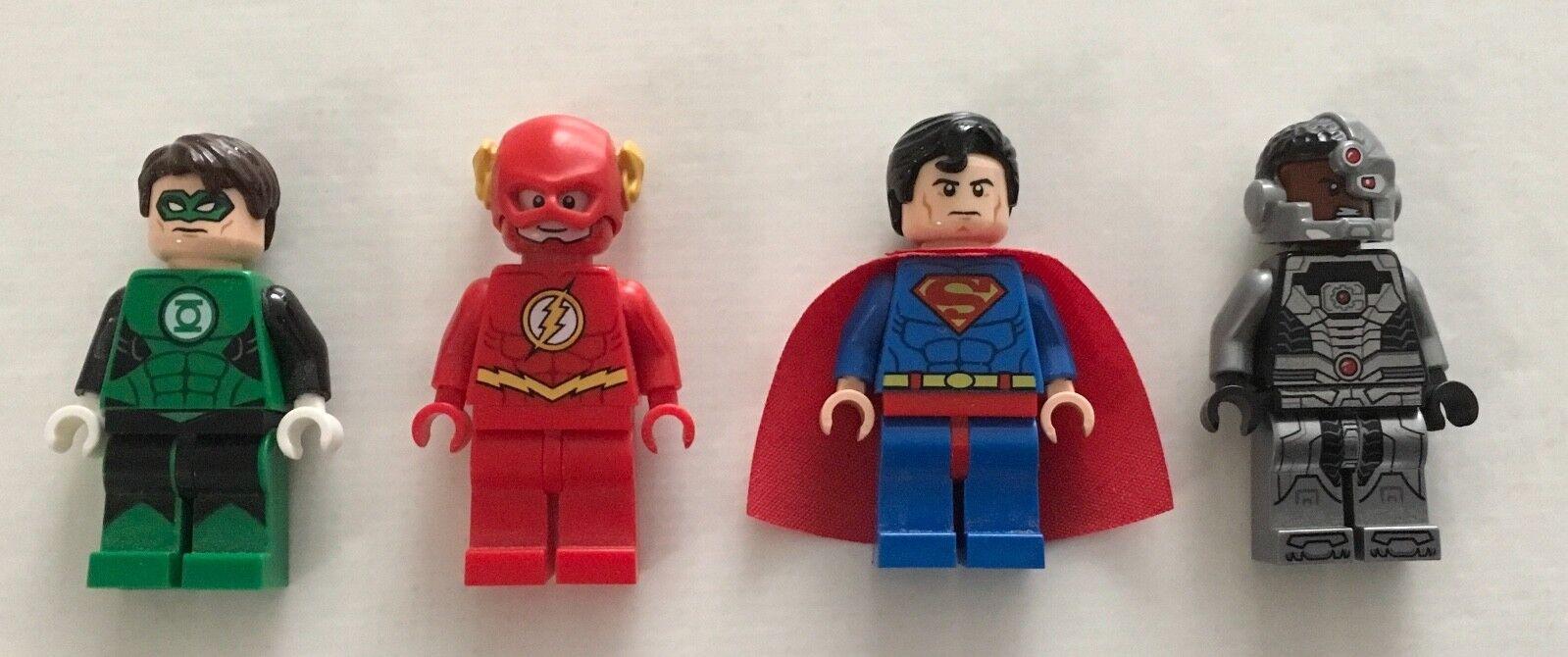 consegna e reso gratuiti Genuine LEGO Superuomo verde Lantern Flash Cyborg from set set set 6862 76026 76025 76028  alla moda