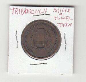 NY630BA New York City Triborough Bridge /& Tunnel Authority transit token