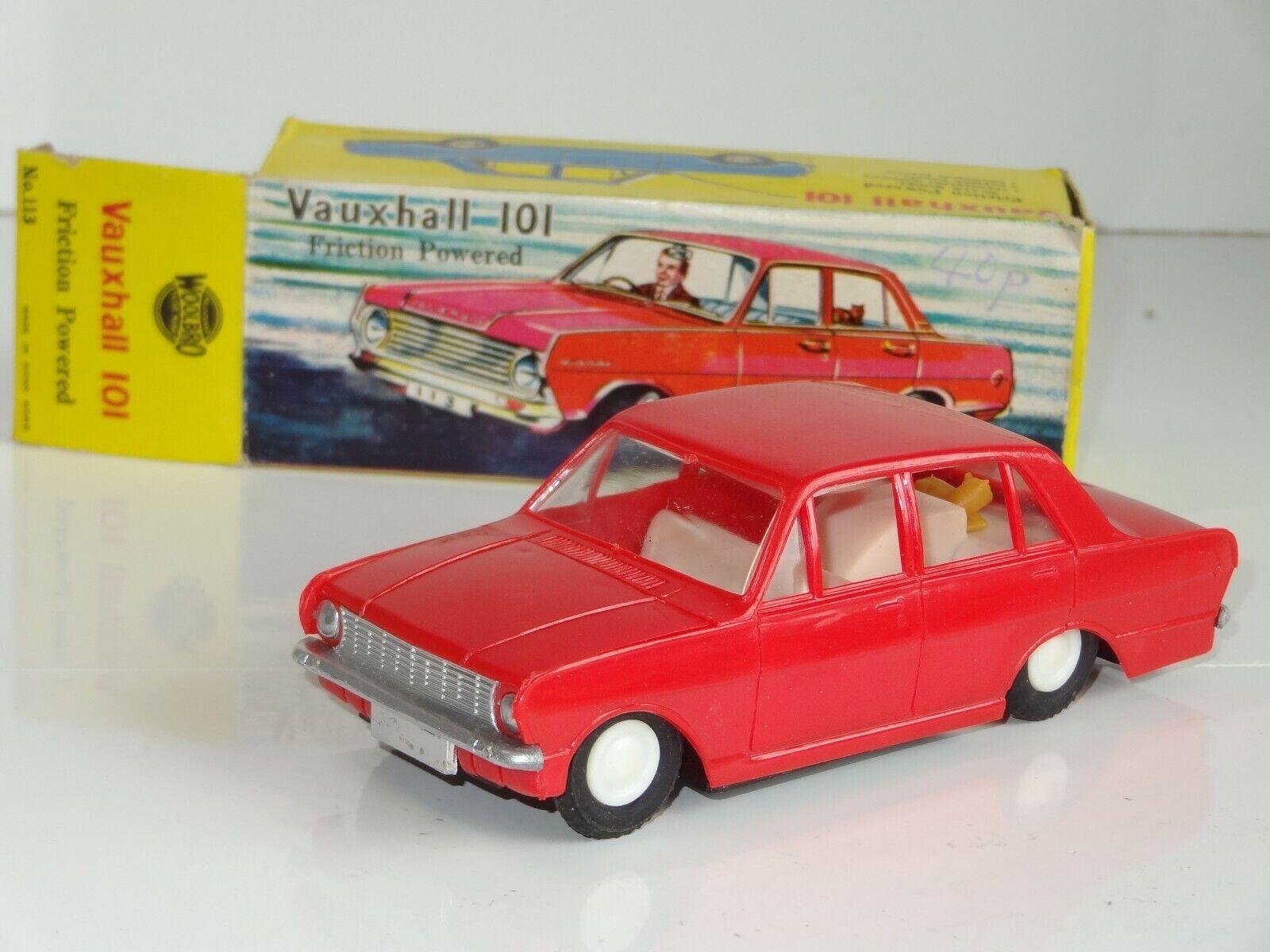 Woolbro 113 Vauxhall Victor 101-Hong Kong Plástico De Fricción (219)