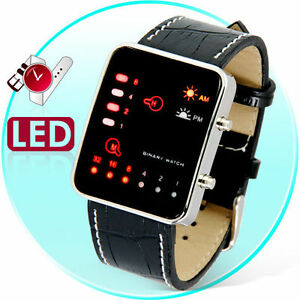 The Singularity - Japanese Style Multicolor LED Watch 6941377624182