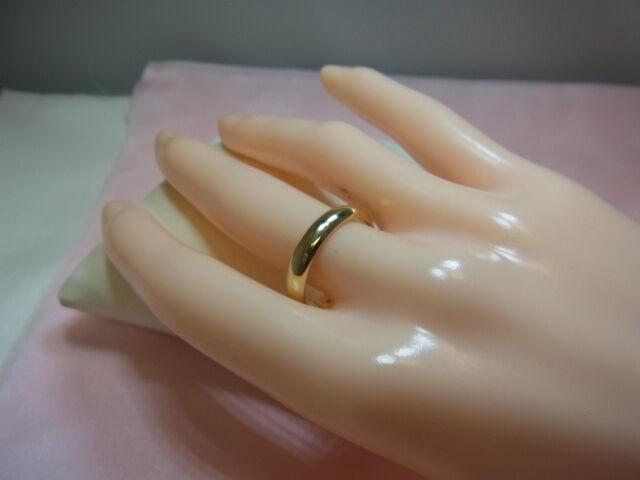 1025-585er yellowgold Ehering Ringgroße 55 Breit 4 Stark 1,73 Gewicht 4,04  gramm