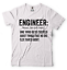 miniature 5 - Engineer T-shirt Funny Engineering T-shirt.Gift For Engineer Shirt Funny Tshirt