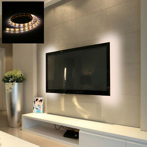 50100cm Led Strip Light Tv Background Lighting With Usb Cable