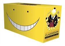 Assassination Classroom Complete Box Set Manga Includes volumes1-21 Series No1