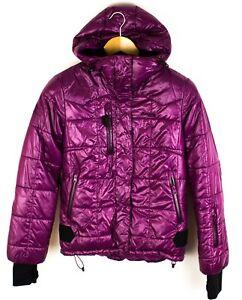 Bergans-de-Noruega-Mujer-Chaqueta-Acolchada-Impermeable-Compresion-Coat-TALLA-S