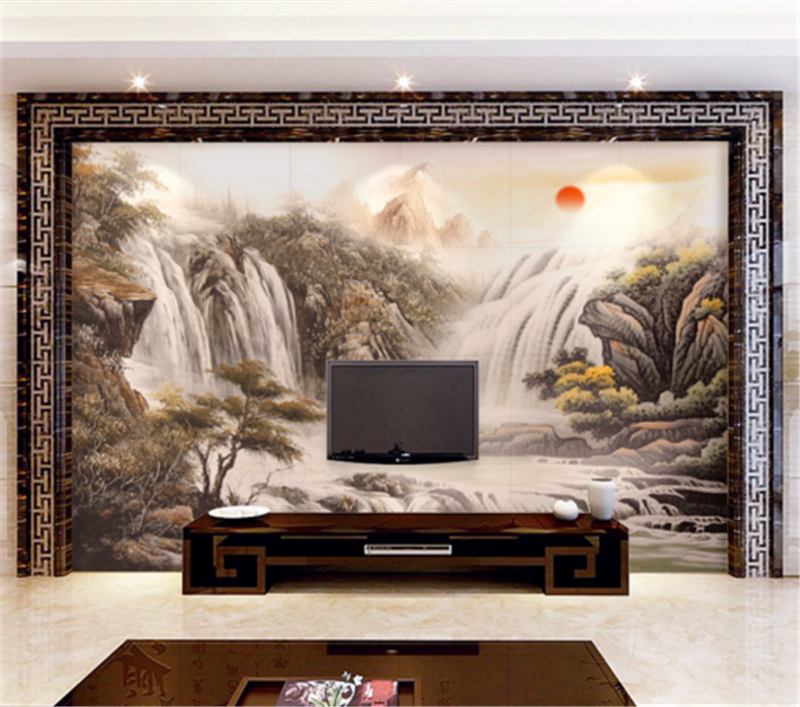 3D Landscape Paint 88 Wallpaper Mural Paper Wall Print Wallpaper Murals UK Carly