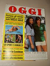 OGGI=1976/26=ADRIANO PANATTA=AVE NINCHI=CIRIE=GIACOMO LAURI VOLPI=CLAUDIA MORI=