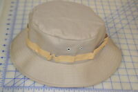 Khaki Poly Cotton Size Large Boonie Hat Camo Usa Made Desert Hunting Outdoors