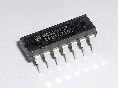 2pcs DIP IC MC33079P MC33079
