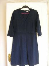 BODEN MERCER DRESS PONTE JERSEY NAVY BLUE UK 16 LONG, EUR 42-44, US 12 NIB WH543