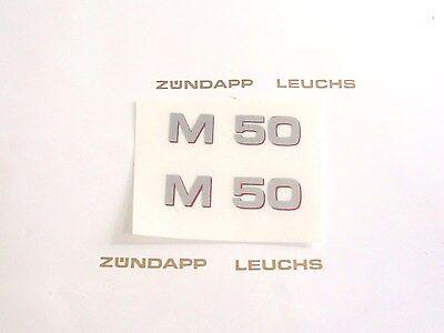 Gelb 760mm Bergsteiger M 25 434 Zündapp 2x Nabenputzer Nabenputzring Rot