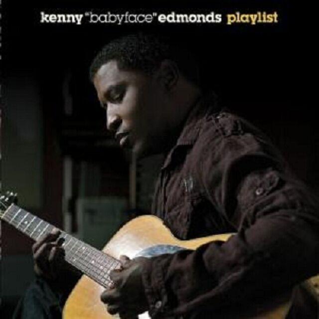 """KENNY """"BABYFACE"""" EDMONDS """"PLAYLIST"""" CD NEUWARE"""
