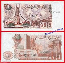 ARGELIA ALGERIA 200 Dinars 1983 Pick 135  SC / UNC