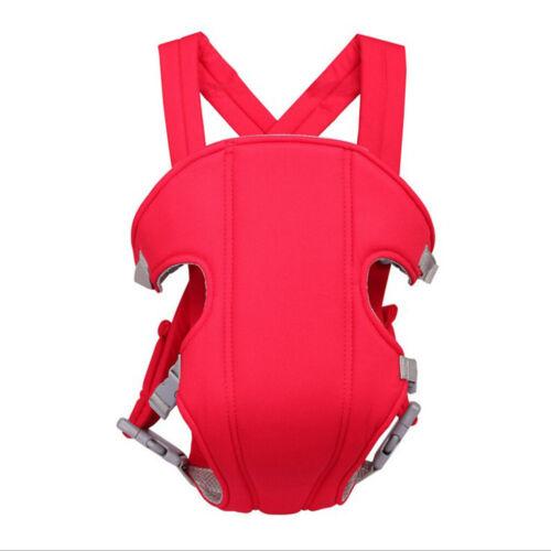 Babytrage Kangaroo Atmungsaktive Tasche Stoff vorne   Rot