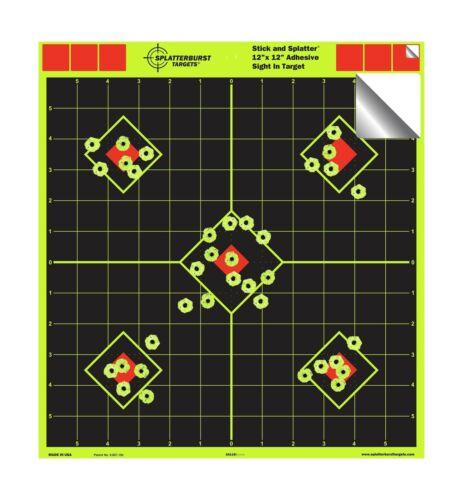 Splatterburst Targets vue en Stick /& éclaboussures autocollante... environ 30.48 cm 12 x 12 in