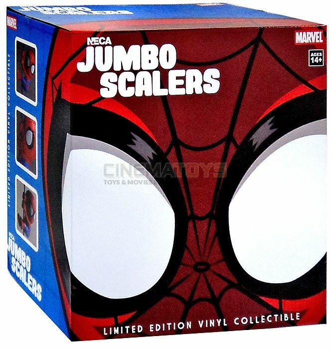 Spiderman Jumbo Scalers Marvel Entertainment  Original NECA Spider-Man Gigante