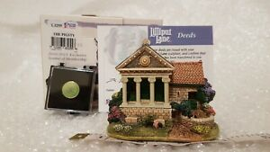 Lilliput-Lane-THE-PIGSTY-2010-11-Cottage-With-Club-Membership-Pin-Brand-New