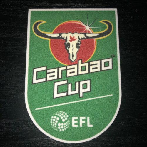 Carabao Cup EFL League Football Shirt Soccer Patch Iron Felt Badge Aston Villa