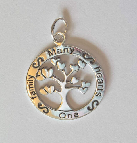 angel sterling silver 925 pendant charm various designs om heart butterfly