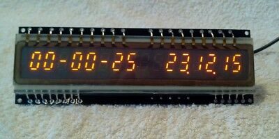 16 Digits Igp-17 Panaplex Clock With 2 Alarms. Newly Designed