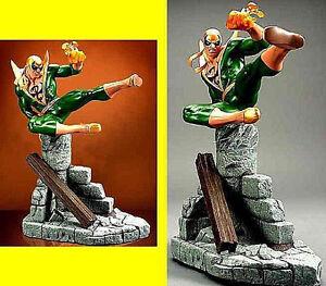 Iron-Fist-Marvel-Comics-Green-Artist-Proof-Hard-Hero-Statue-Factory-Sealed