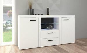 newest 9fe8b 0dd4d Details about White Sideboard new Cabinet Modern Living Room Furniture set,  Cupboard TV UNIT