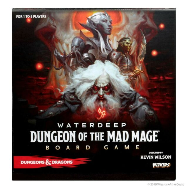 SHADOW 10 Waterdeep Dungeon of the Mad Mage D/&D Dungeons and Dragons