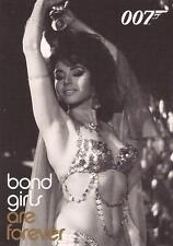 """James Bond In Motion - BG67 """"Leila Guiraut"""" Bond Girls Chase Card"""