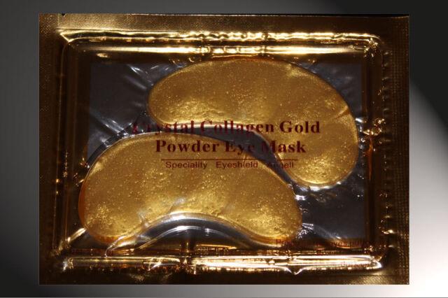 20 GOLD  BIO-COLLAGEN EYE-MASK ANTI AGING FEUCHTIGKEITSMASKE AUGENMASKE KUR