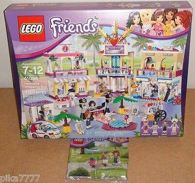 LEGO Friends Heartlake Shopping Mall /& Smoothie Stand 41058 30202 Stephanie Emma