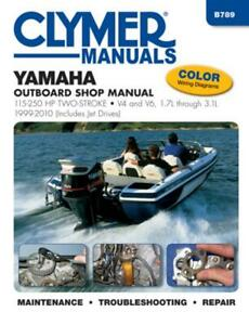 Yamaha-115-250-HP-2-Stroke-Outboard-Jet-Drives-1999-2010-Repair-Manual