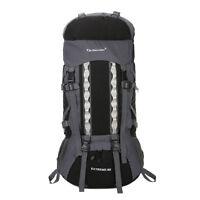 80L+20 Waterproof Outdoor Camping Travel Hiking Bag Internal Frame Backpack Pack