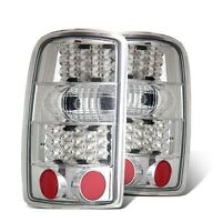 Cg Chevy Tahoe / Suburban / Gmc Denali 00-06 Led Tail Light All Chrome on sale