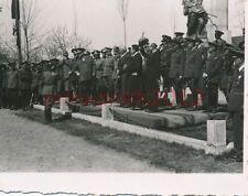 Foto, Craiova, Rumäni. u. dt. Generäle bei Parade h, Herbst 1940; 5026-49