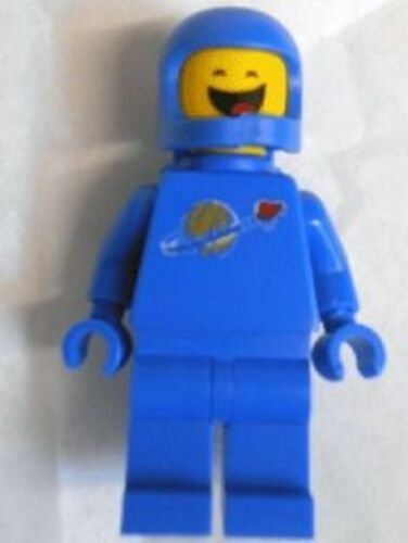 Closed Eyes 70818 NEW Lego Movie Minifig Benny Space Guy Blue